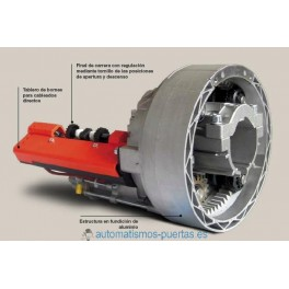 MOTOR ENROLLABLE JEWEL EJE 42, 48 Y 60 DE 130 KG. SIN ELECTROFRENO.