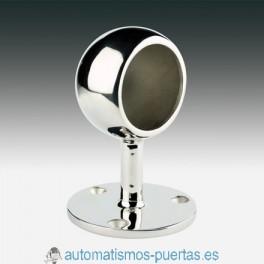 SOPORTE TERMINAL REDONDO BOLA DE 43MM. SERIE 703  INOX 316