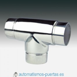 UNION EMPALME T RECTO PARA TUBO DE 50.8MM. CT-202 INOX 316