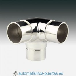 UNION EMPALME T ANGULAR TUBO DE 43MM. CT-205 INOX 316