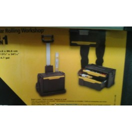 CARRO PORTA HERRAMIENTAS STANLEY TALLER MOVIL MODULAR EN PVC