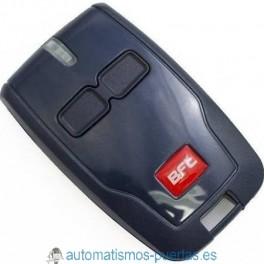 MANDO A DISTANCIA BICANAL BRC02 DE BFT PARA PUERTAS AUTOMÁTICAS, DE 433.92MHZ ROLLING-CODE.