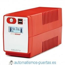 SAI (SISTEMA DE ALIMENTACION ININTERRUMPIDA) SALICRU SPS 500 SOHO PLUS