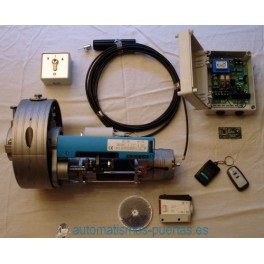 KIT MOTOR PARA PUERTA ENROLLABLE ACM.