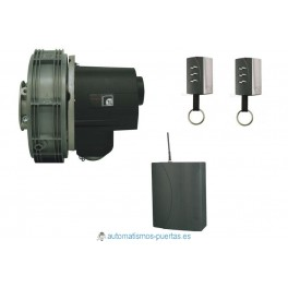 KIT MOTOR PERSIANA ENROLLABLE WINNER DC PUJOL 24V DE HASTA 90 KG.