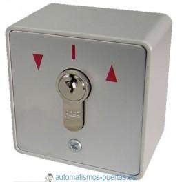 Cerradura de dos contactos. Selector de llave de 2 contactos para apertura y cierre