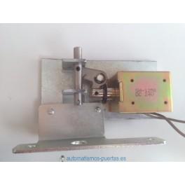 Electrocerradura magnética para puertas automáticas de cristal