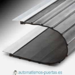 GOMA LATERAL PARA BISAGRAS PERFIL ALUMINIO + GOMA ANTIPINZAMIENTO PARA PUERTAS DE CONTRAPESAS (METRO LINEAL)