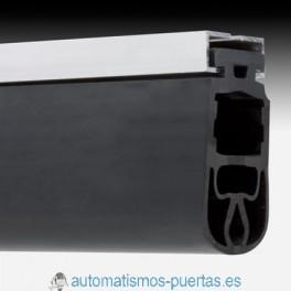 PERFIL ALUMINIO Y GOMA ENCUENTRO PARA PUERTAS CORREDERAS (METRO LINEAL)