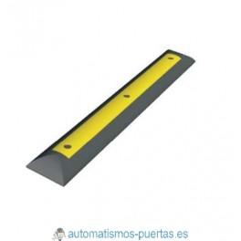SEPARADOR DE CARRILES CAUCHO 1000X150X45 MM