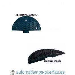 TERMINACION LATERAL DEL REDUCTOR DE VELOCIDAD O BADEN  250 X 400 X 30 MM