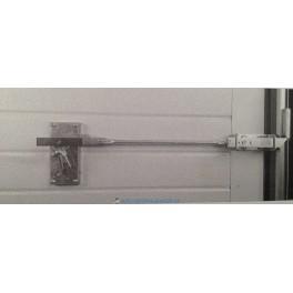 Accesorio de desbloqueo manual exterior para puertas seccionales de garaje sin motor