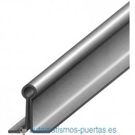 RAIL GUIA INFERIOR DE EMBUTIR PARA PUERTA CORREDERA REF 1288. (3MTS)