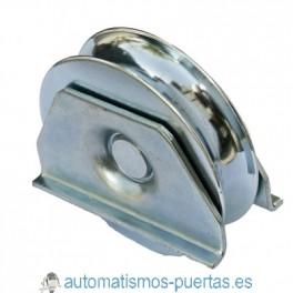 POLEA CON SOPORTE TIPO 1 80MM R-20 PARA PUERTA CORREDERA REF 710.