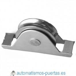POLEA CON SOPORTE TIPO 2 80MM R-20 PARA PUERTA CORREDERA REF 720.